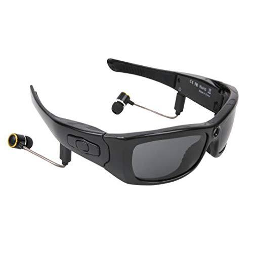KCaNaMgAl Bluetooth-Smart-Brille, kabellose HD 1080P-Bluetooth-Sonnenbrille mit Kopfhörer, Stereo-Headset-Videofunktion für Bergsteigen im Freien