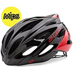 Giro MIPS Bicycle Helmet, Unisex, Color Bright Red/Blk, tamaño Small