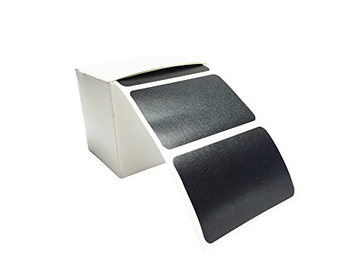100 Tafelsticker, Etiketten, Vinylsticker, Tafelaufkleber in praktischer Spenderbox