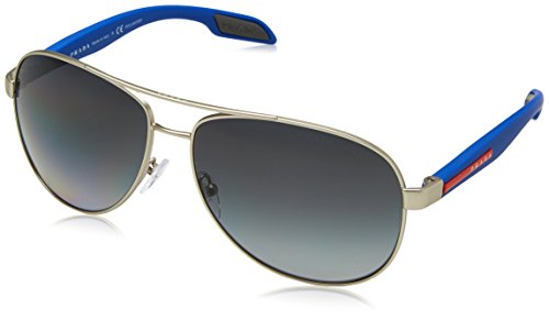 270265fdb327 Prada Linea Rossa PRADA SPORT BENBOW 53PS SILVER BLUE GREY SHADED men  Sunglasses