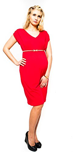 Robe de grossesse 9003 Rouge