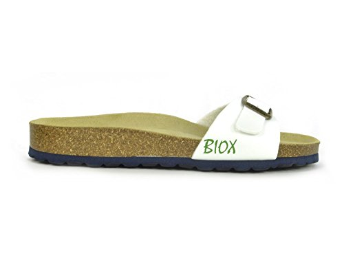 Biox  Biox-malaga, Sandales pour femme Sano Flor White