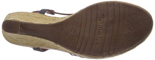 Tamaris 28316, Sandali donna Multicolore (Mehrfarbig (Navy Comb 890))