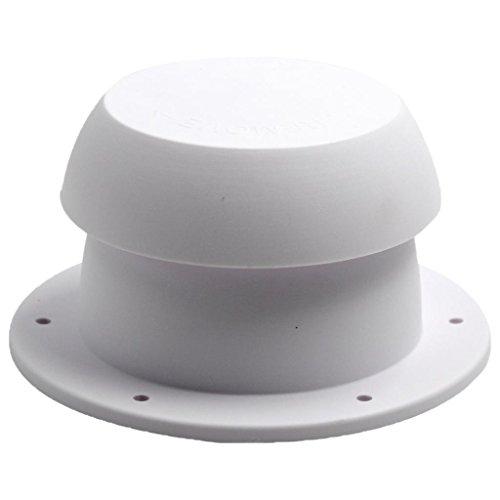 Sanitär-vent (Shiwaki Ersatz Sanitär Vent Cap Weiss RV Camper Trailer Weiß Kunststoff)