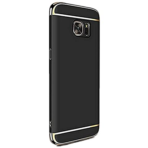Samsung Galaxy S6 Edge Plus hülle Pacyer ® 3 in 1 PC hard case Mode-Design stoßfest Anti-Fingerprint Kufe Schutzhülle Bumper Handyhülle Harte Shockproof cover (S6 Edge Plus,