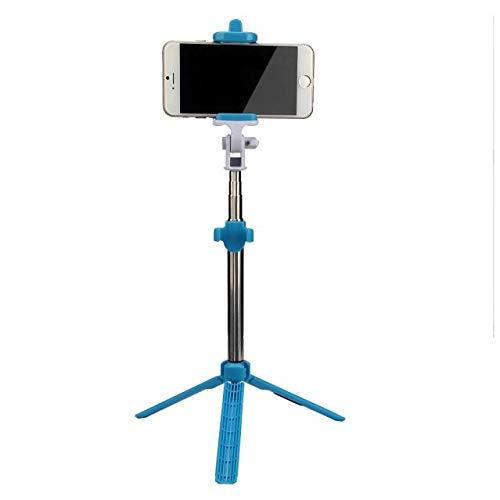 Fulltime E-Gadget Selfie Stange, Mini Wireless Bluetooth vertikale Stativ Stretch Multi-Funktion seit der Welle (Blau)