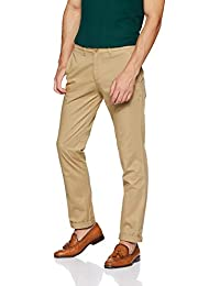 Amazon Brand - House & Shields Men's Regular Fit Casual Trousers