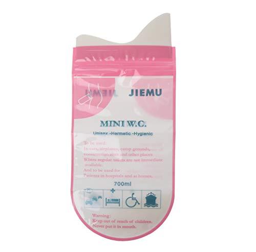 BIlinli Tragbare Auto-Urin-Vomit-Tasche des handlichen Wegwerf-Urinal-Toiletten-Beutels 700ml