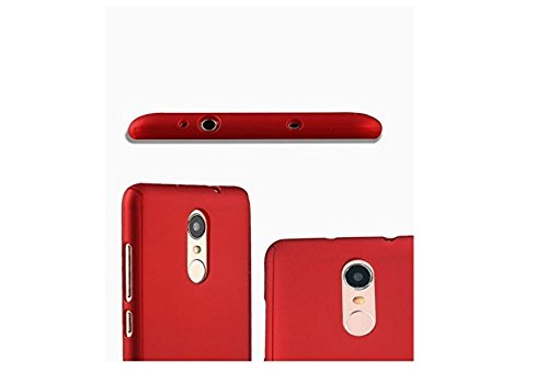 finest selection ea3a3 dd979 Tidel iPaky 360 Full Body Protection PC Front& Back Cover Case For Xiaomi  Redmi Mi Note 4 (RED)