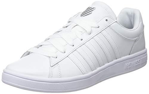 K-Swiss Herren Court Winston Sneaker, Weiß (White 154), 43 EU