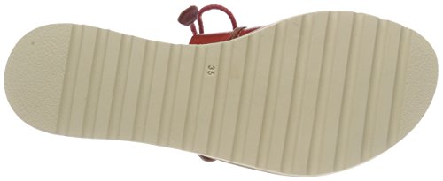 Pikolinos Alcudia W1l, Sandales Bout Ouvert Femme Rouge (Coral)