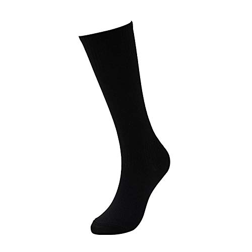 WENSISTAR The Calf Performance Socks,Calze da Calcio Sportive ad Alta Elasticità e Resistenti all'Usura per Bambini a Tubo Lungo e Resistenti all'Usura @ Nere,Scarpe da pallavolo da Uomo