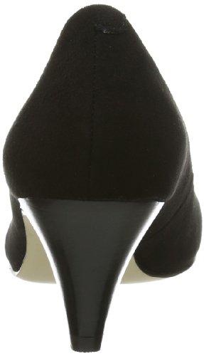 Buffalo London 108-8007-N KID SUEDE 149109 Damen Pumps Schwarz (Black 01)