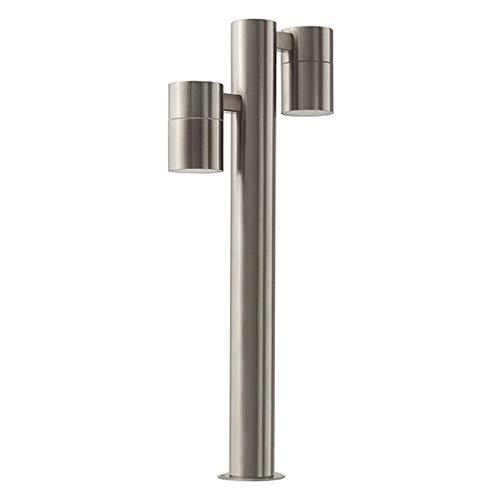 S11 Led (LED Standleuchte Sockelleuchte Pollerleuchte Wegleuchte Edelstahl Außenleuchte IP44 GU10-230V (Form:S11) (Warmweiß))