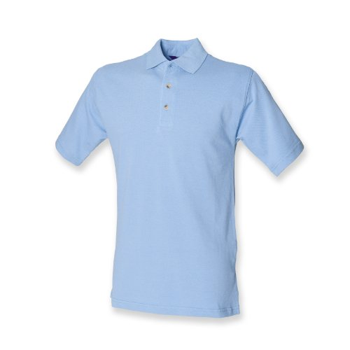 Henbury -  Polo  - Uomo Cornflower Blue