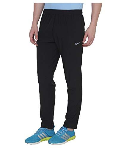 Mens Sports Track Pant with Zipper_{F_90_TP7_ Black,Navy}
