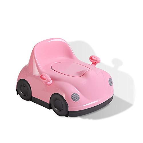 Auto-Form-Männliche Und Weibliche Baby-Kind-Toilette, Kultivieren Baby-Unabhängige Hygienegewohnheiten, Verwendbar Für Kinder Unter 6 Jahren,Pink