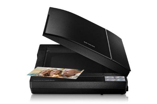 Epson Perfection V370 Photo - Scanner (210 x 297 mm, 4800 x 9600 DPI, 48 Bit, 48 Bit, Flachbettscanner, Schwarz)