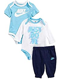 c7f5505c1 Nike Jordan Baby Boys' 3 Piece 2 Bodysuits Pants 3-6 Months, Binary
