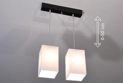 Designer Pendel Leuchte Decken Lampe Retro Billardtisch Pool E27 Power LED Bern (Sockelfarbe: Natur)