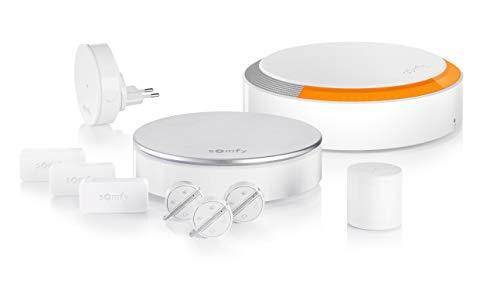 Somfy 1875230 - Home Alarm Plus | Alarme maison sans fil connectée avec sirène extérieure | Somfy Protect | Compatible Alexa, Google Assistant et TaHoma