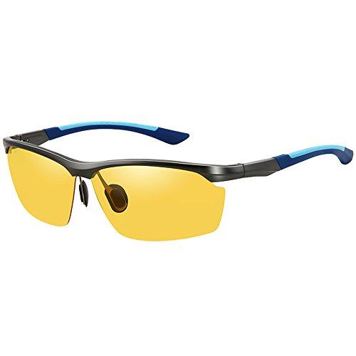 Driving Tour Upgrades Lens Sonnenbrillen, Driver's Driving Brillen, Automatische Farbwechsel Nachtsicht Polarisierte Herren & Damen Sonnenbrillen