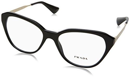 Prada - PRADA PR 28SV, Schmetterling, Acetat, Damenbrillen, BLACK(1AB-1O1), 52/16/140
