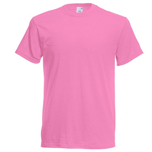 Fruit of the Loom Original t-shirt Rosen Rosa