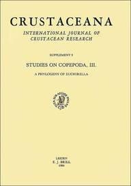 Studies on Copepoda: A Phylogeny of Euchirella No. 3 (Crustaceana Supplements Series) por J. C. von Vaupel Klein