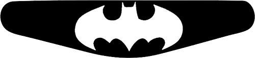 Adhesivo para la barra de luces de la PlayStation PS4 negro negro Batman Classic (schwarz)