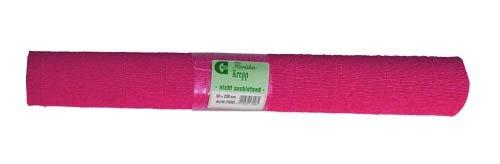 Krepppapier pink B50cm x 250cm 1 Rolle Floristenkrepp Bastellkrepp Kreppband Party Deko basteln