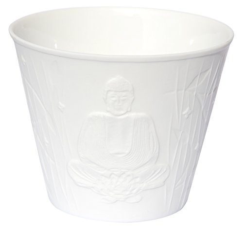 Find something different Buda porcelana Feng Shui Vela de té Copa, Cristal, multicolor