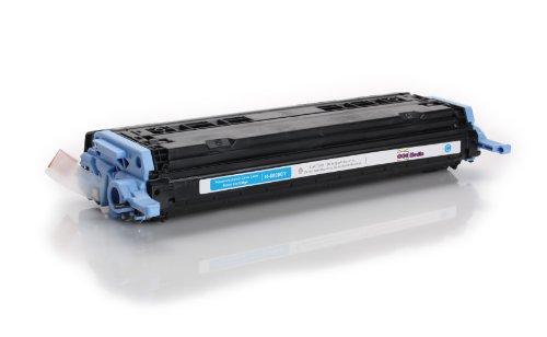 Preisvergleich Produktbild Toner kompatibel zu HP Q6001A | Cyan für ca. 2000 Seiten | ersetzt Toner für HP Color Laserjet CM1015 CM1017 1600 1600N 2600 2600N 2600NSE 2605 2605DN 2605DTN