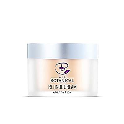 3% Retinol Cream, Hyaluronic Acid, Vitamin A B E for Men and Women - The Best Anti Aging Cream for Face Day & Night that Reduces Wrinkles, Fine Lines & Age Spots - PALM OIL FREE, RESULTS GUARANTEED
