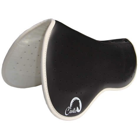 Cavallo English Raised Wither Saddle Pad - Lifts the saddle at the wither to reestablish balance and correct position whilst allowing skeletal relief