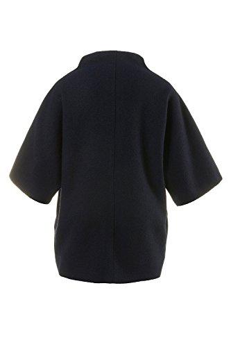 Ulla Popken Femme Grandes tailles Gilet 705765 bleu foncé