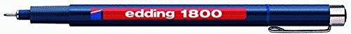 Preisvergleich Produktbild edding Faserzeichner edding 1800 profipen 0.5, ca. 0,5 mm, blau