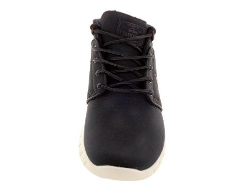 Nike Stefan Janoski Max Mid L, Chaussures de Skate Homme, Taille Bleu / Argenté (Drk Obsdn / Drk Obsdn-Mtllc Slvr)