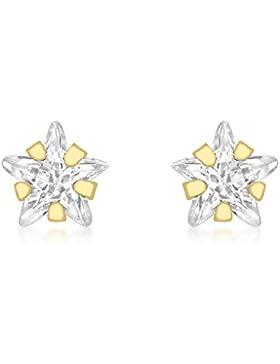 Carissima Gold Damen-Ohrringe 375 Gelbgold  Zirkonia