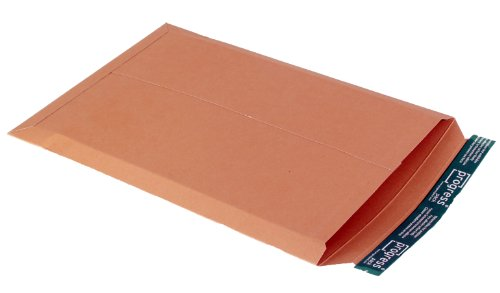 progressPACK V04.07 - Sobre de envío, (DIN A3, 309 x 447, hasta 30 mm de grosor, 25 unidades, cartón), color marrón