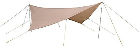 Rideaux 350 Cm - Eureka! Parawing - Auvent - 350x350 cm