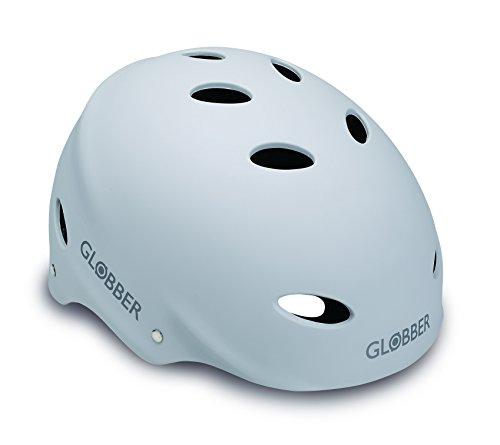 Globber Adult Scooter Helmet-Small-White Casco, Unisex, Blanco, S
