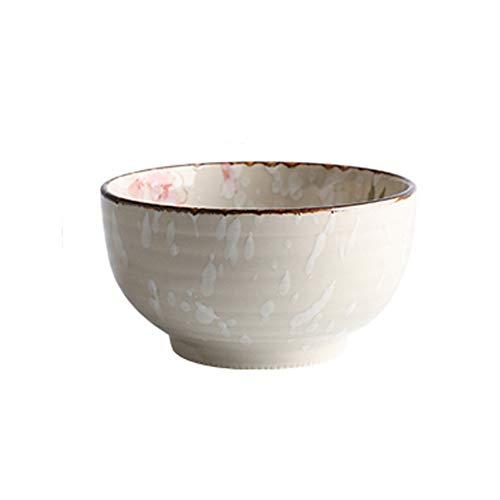 HYDT Bol Bol, Vaisselle en céramique ménage, Gratuit avec les assortiments, bol de soupe bol de riz peint à la main de style japonais (Couleur : 5.1 inch Japanese bowl)