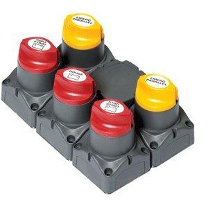 BEP Marine BEP Remote Battery Management Cluster f/Twin Engine Bep Batterie