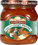 Cucina Antica - Sauce mit Steinpilzen - Box mit 12 Gläsern à 200 g jeder (Antica-sauce Cucina)