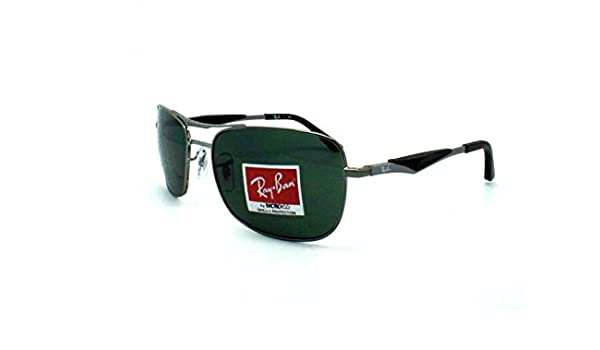 e732aa7c75 Sunglasses Ray Ban RB 3515 Active Lifestyle Grey 004 71 58 17   Amazon.co.uk  Clothing