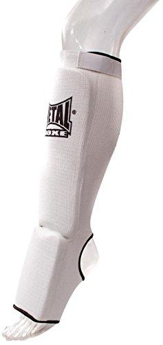 METAL BOXE MB153 Protège-Tibias/Pieds Blanc Taille XS