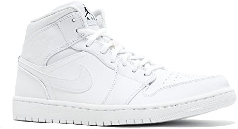 Nike 554724 110 Sportschuhe  Herren  Weiß (White/Black/White)  48 1/2