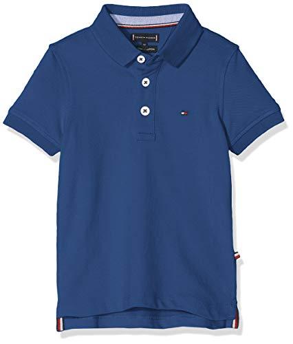Tommy Hilfiger Baby-Jungen Essential Tommy REG Polo S/S Poloshirt, Blau (Limoges 484), (Herstellergröße: 92) (Tommy Hilfiger-pique-shirts)