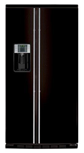 General Electric ORE 30 VGF 7B - Amerikanischer Kühlschrank / Kühlschrank side by side / Kühlschrank in Schwarz Pulverbeschichtet - Freistehender Kühlschrank- Energieklasse A+ - 2 Jahre Garantie